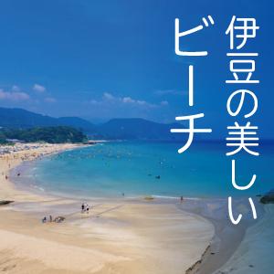伊豆には美しいビーチがたくさんあります