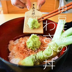 Kawazu of home meal:Raw wasabi bowl